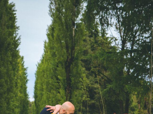 Il matrimonio di Luca e Stefania a Vergiate, Varese 224