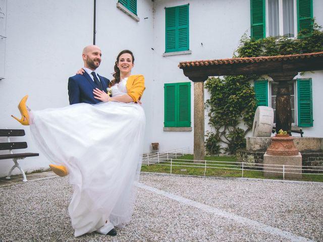 Il matrimonio di Luca e Stefania a Vergiate, Varese 236
