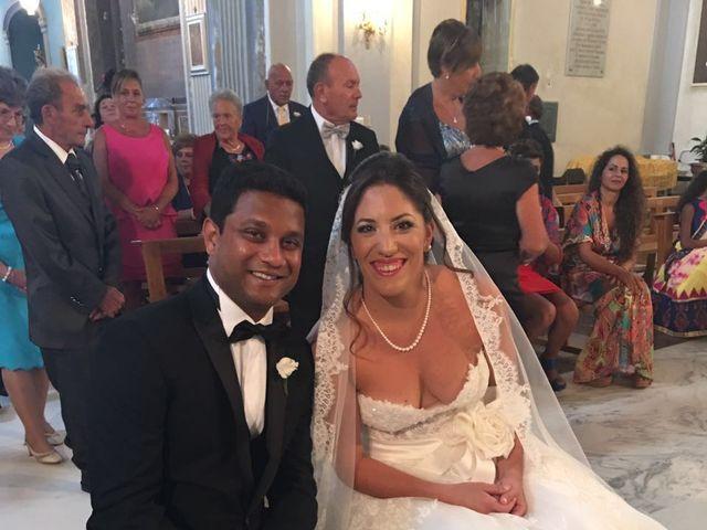 Il matrimonio di Rohan e Giulia a Taormina, Messina 5