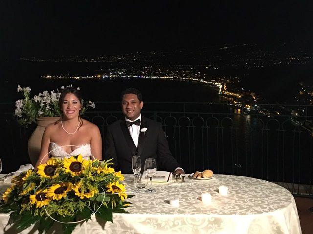 Il matrimonio di Rohan e Giulia a Taormina, Messina 7