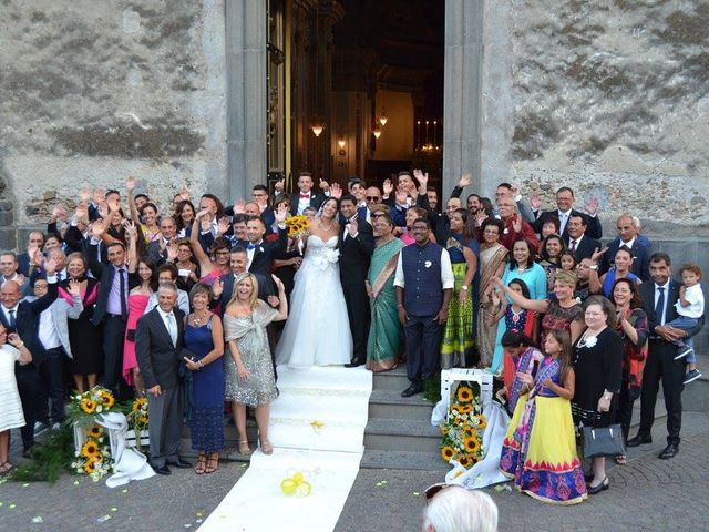 Il matrimonio di Rohan e Giulia a Taormina, Messina 1