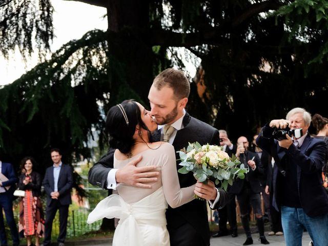 Il matrimonio di Omar e Camilla a Alzano Lombardo, Bergamo 11