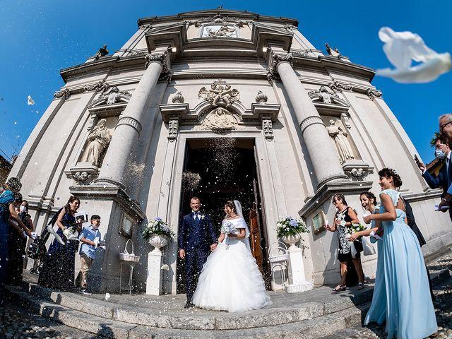 Il matrimonio di Stefano e Erica a Merate, Lecco 28