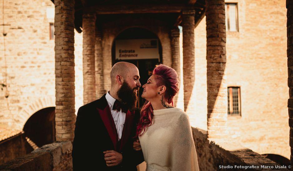 Il matrimonio di Tiziano e Laura a San Gimignano, Siena