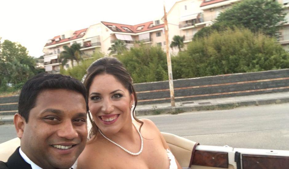 Il matrimonio di Rohan e Giulia a Taormina, Messina