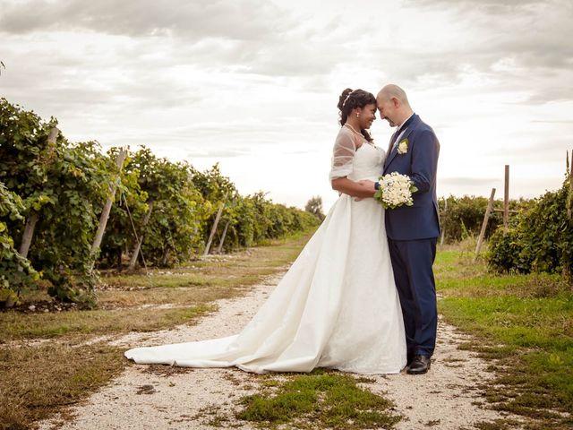 le nozze di Vanusa e Denis