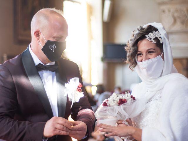 Le nozze di Dayana e David