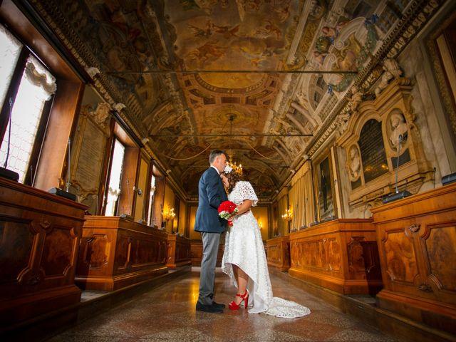 Il matrimonio di Pietro e Andreesa a Comacchio, Ferrara 28
