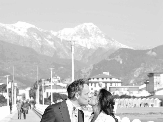 Il matrimonio di Matteo e Cristina a Forte dei Marmi, Lucca 49