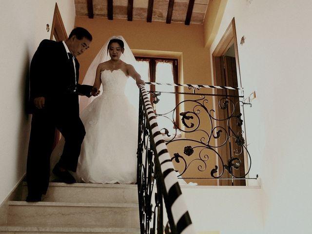 Il matrimonio di John e Yao a Ostra Vetere, Ancona 22
