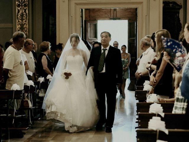 Il matrimonio di John e Yao a Ostra Vetere, Ancona 23