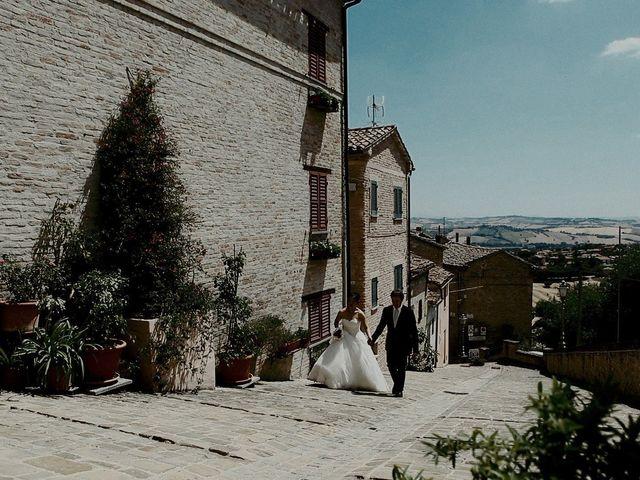 Il matrimonio di John e Yao a Ostra Vetere, Ancona 28