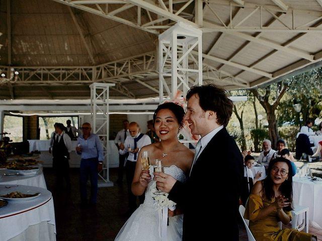 Il matrimonio di John e Yao a Ostra Vetere, Ancona 39