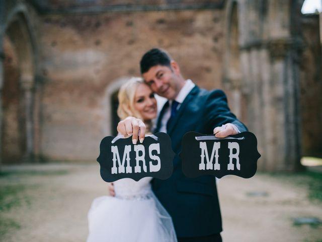Le nozze di Kate e Cameron