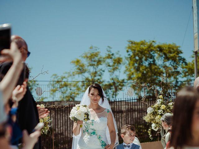 Il matrimonio di Massimiliano e Maura a Sperlonga, Latina 13