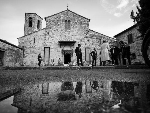 Il matrimonio di Leonardo e Alessandra a Castel Focognano, Arezzo 14
