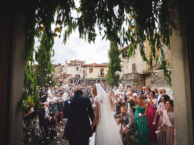 Il matrimonio di Leonardo e Alessandra a Castel Focognano, Arezzo 24