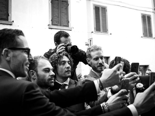 Il matrimonio di Leonardo e Alessandra a Castel Focognano, Arezzo 28