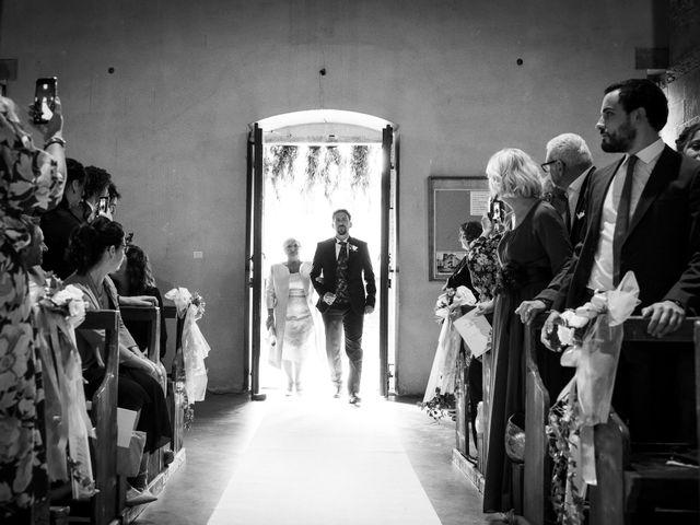 Il matrimonio di Leonardo e Alessandra a Castel Focognano, Arezzo 15