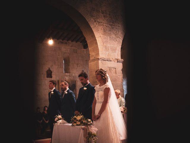 Il matrimonio di Leonardo e Alessandra a Castel Focognano, Arezzo 20