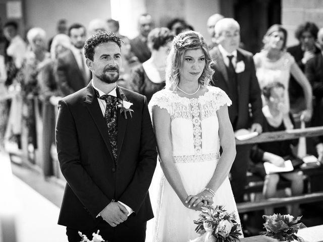 Il matrimonio di Leonardo e Alessandra a Castel Focognano, Arezzo 21
