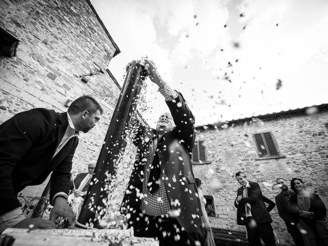 Il matrimonio di Leonardo e Alessandra a Castel Focognano, Arezzo 25