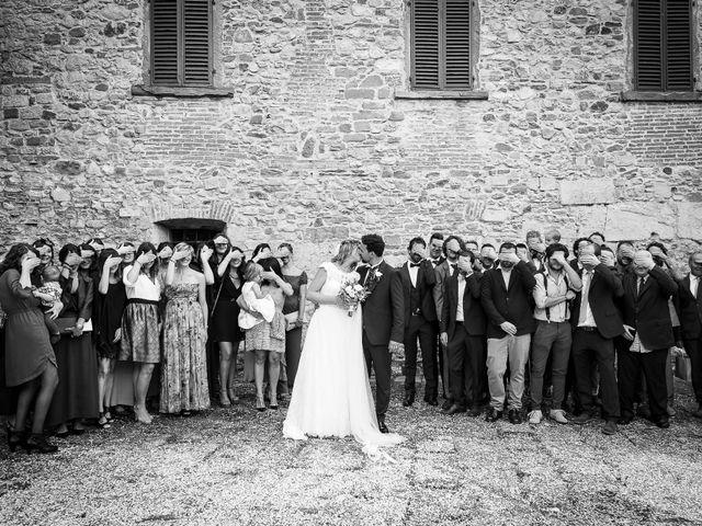 Il matrimonio di Leonardo e Alessandra a Castel Focognano, Arezzo 26
