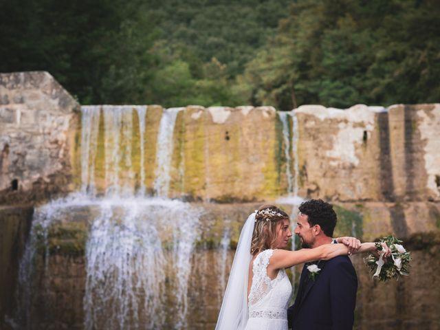 Il matrimonio di Leonardo e Alessandra a Castel Focognano, Arezzo 32