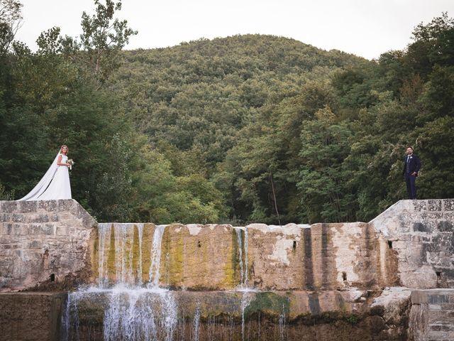 Il matrimonio di Leonardo e Alessandra a Castel Focognano, Arezzo 33