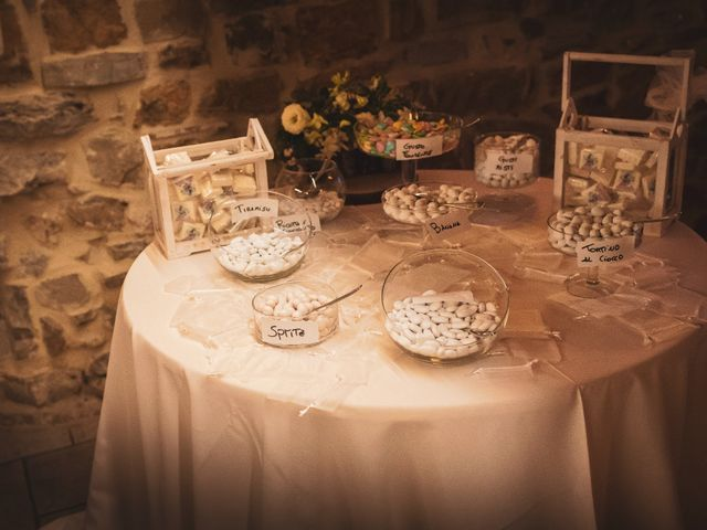 Il matrimonio di Leonardo e Alessandra a Castel Focognano, Arezzo 41