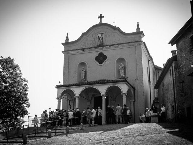 Il matrimonio di Andrea e Ines a Lesa, Novara 10