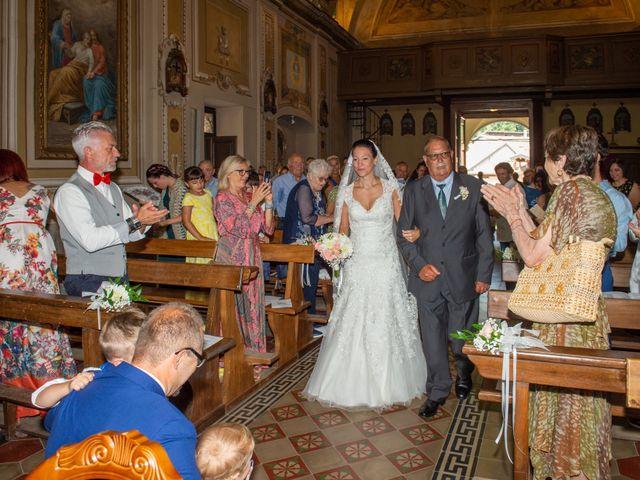 Il matrimonio di Andrea e Ines a Lesa, Novara 13