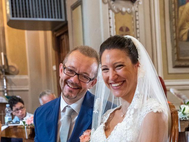 Il matrimonio di Andrea e Ines a Lesa, Novara 17