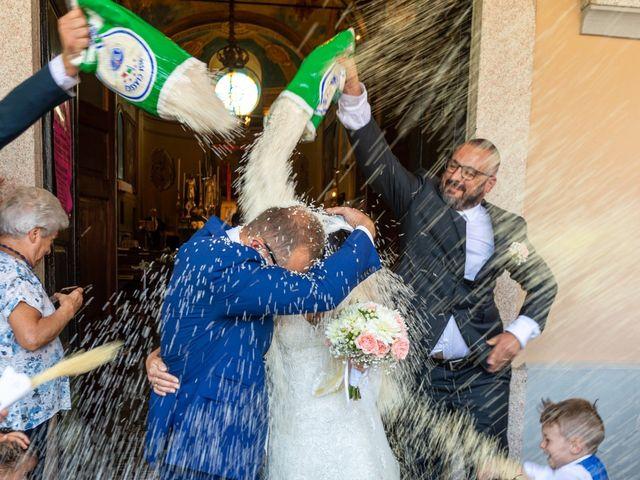 Il matrimonio di Andrea e Ines a Lesa, Novara 21