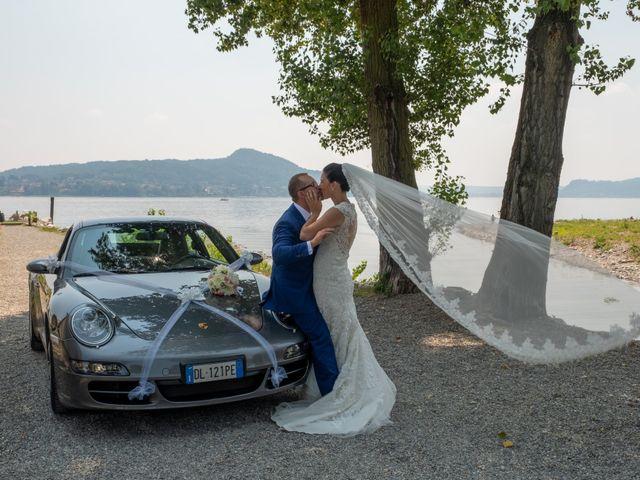 Il matrimonio di Andrea e Ines a Lesa, Novara 24