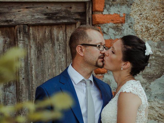 Il matrimonio di Andrea e Ines a Lesa, Novara 34