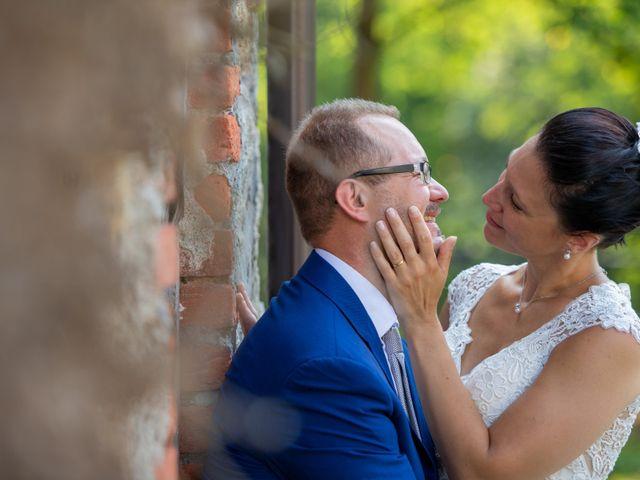 Il matrimonio di Andrea e Ines a Lesa, Novara 35