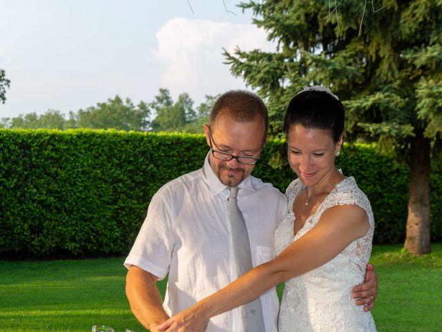 Il matrimonio di Andrea e Ines a Lesa, Novara 41