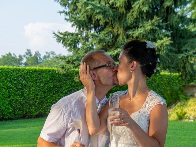 Il matrimonio di Andrea e Ines a Lesa, Novara 42