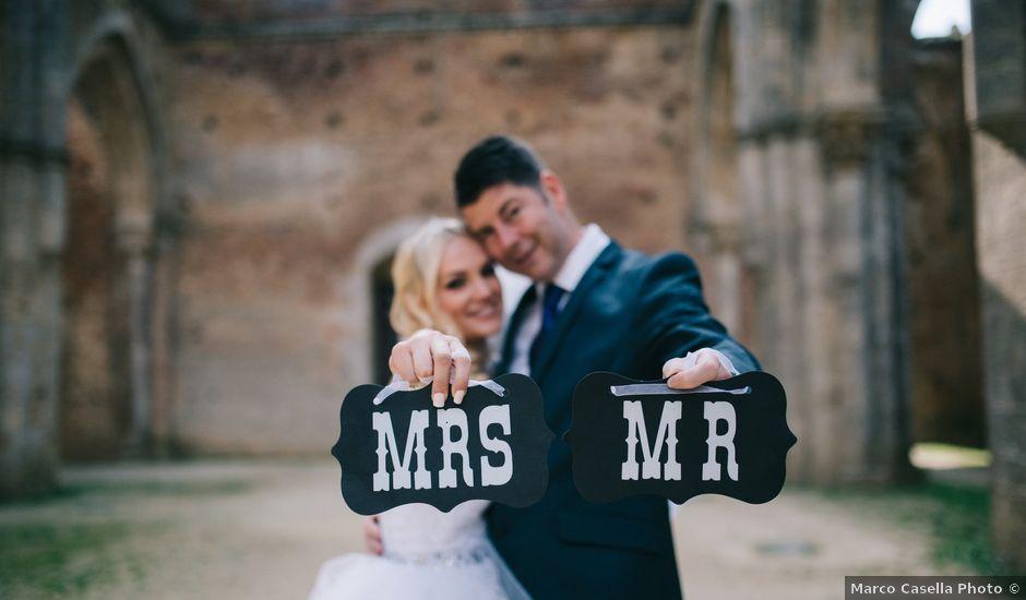 Il matrimonio di Cameron e Kate a Chiusdino, Siena
