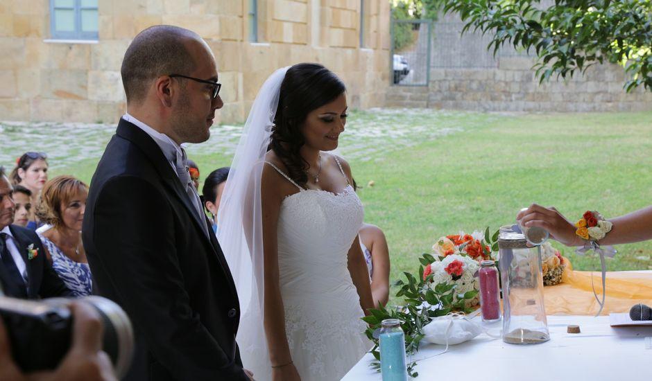 Il matrimonio di Luigi e Elisa a Corleone, Palermo