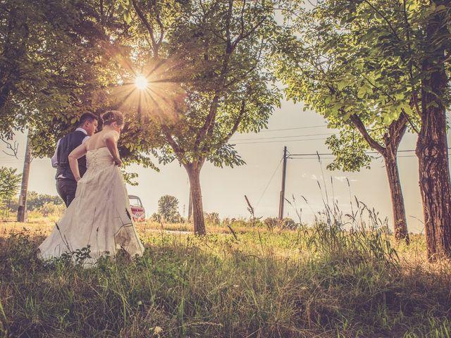 Il matrimonio di Andrea e Serena a Alagna, Pavia 30