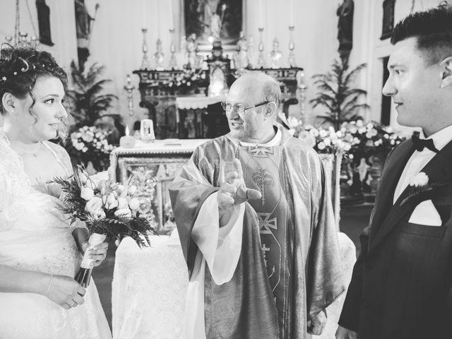 Il matrimonio di Andrea e Serena a Alagna, Pavia 14