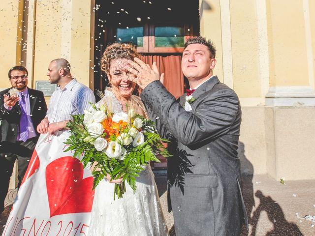 Il matrimonio di Andrea e Serena a Alagna, Pavia 19