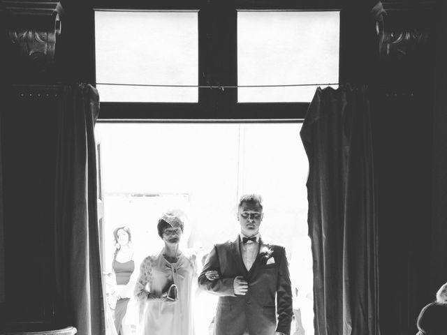 Il matrimonio di Andrea e Serena a Alagna, Pavia 17