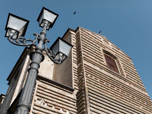Il matrimonio di Camilla e Paolo a Corinaldo, Ancona 3