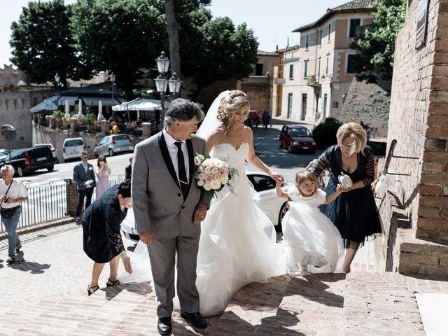 Il matrimonio di Camilla e Paolo a Corinaldo, Ancona 35