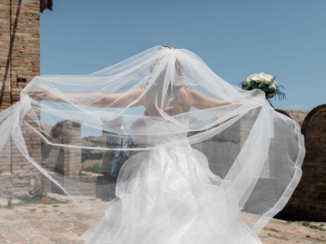 Il matrimonio di Camilla e Paolo a Corinaldo, Ancona 56