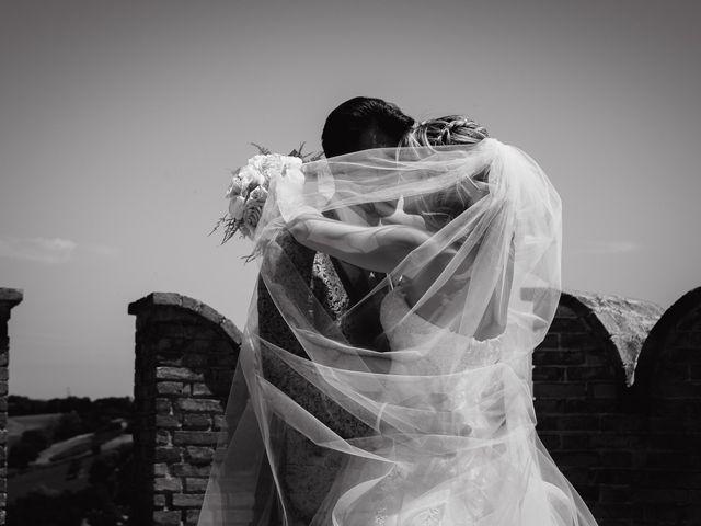 Il matrimonio di Camilla e Paolo a Corinaldo, Ancona 57
