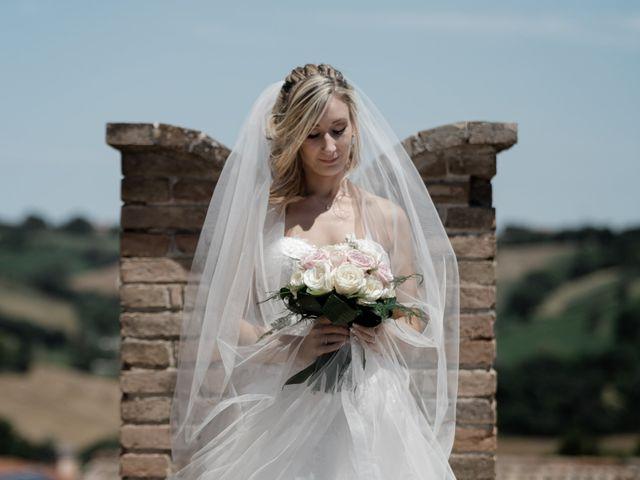 Il matrimonio di Camilla e Paolo a Corinaldo, Ancona 58